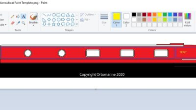 Narrowboat Paint Design Tool